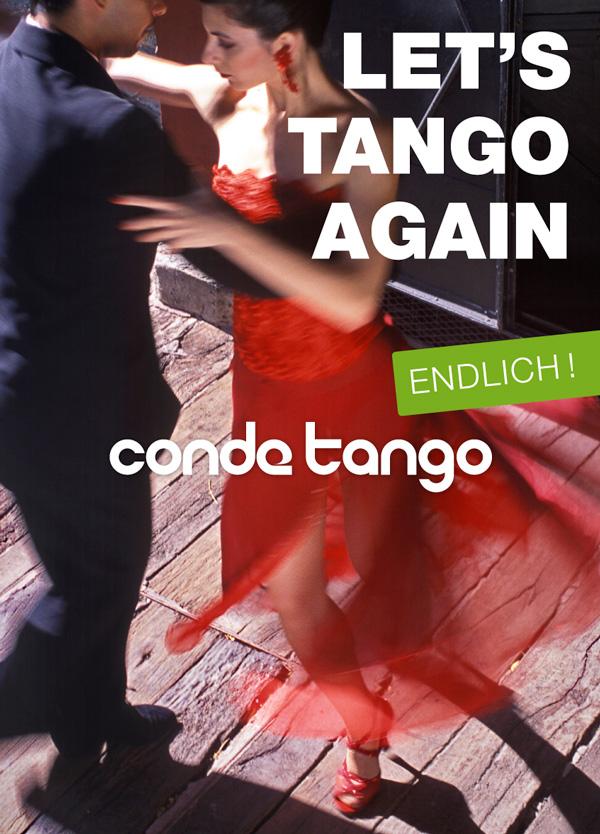"""Plakat """"Let's Tango Again"""""""